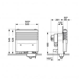 Truma S3004 P Gas Fire Heater Piezo Ignition 31390 01